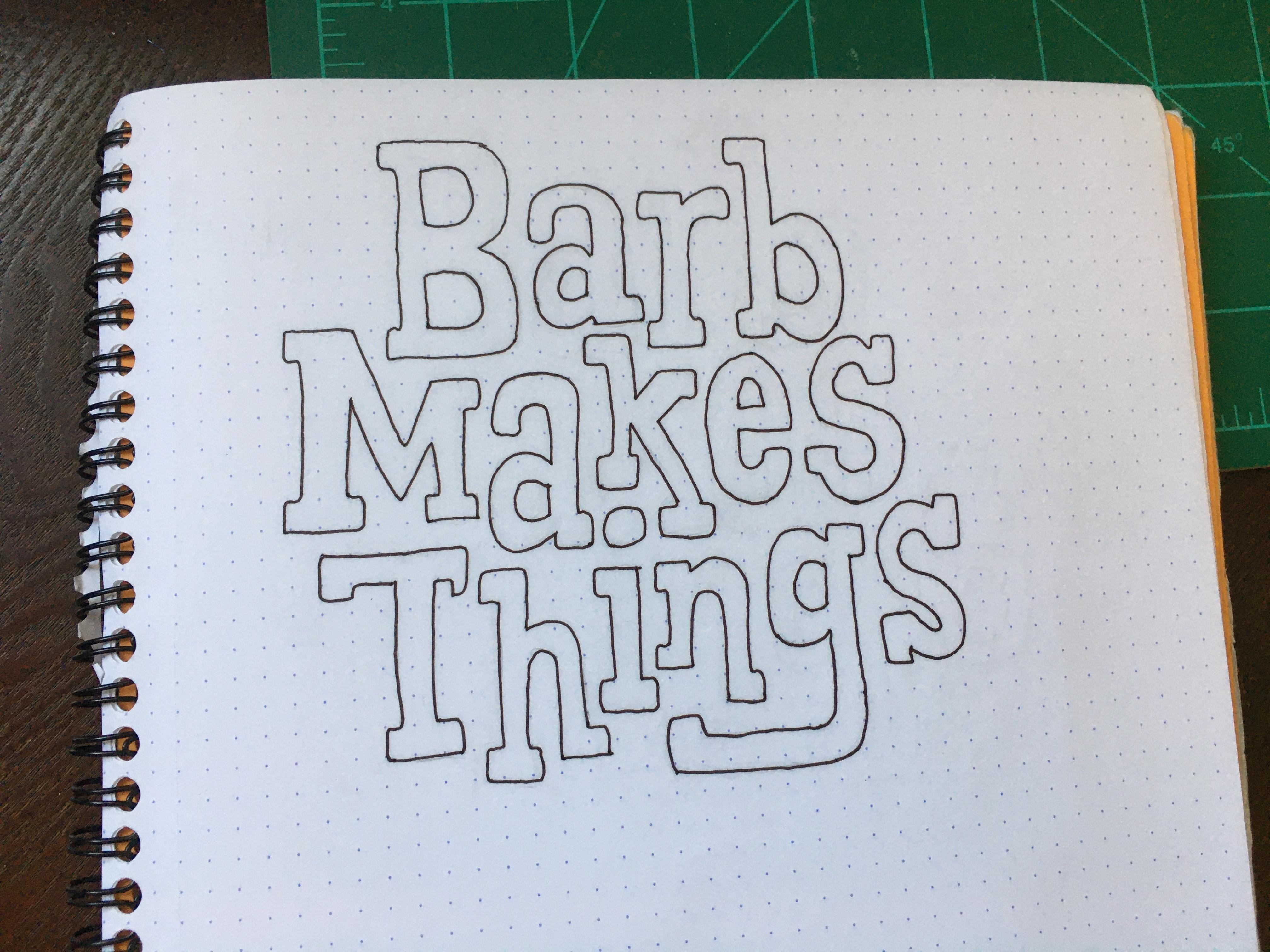 barb makes things
